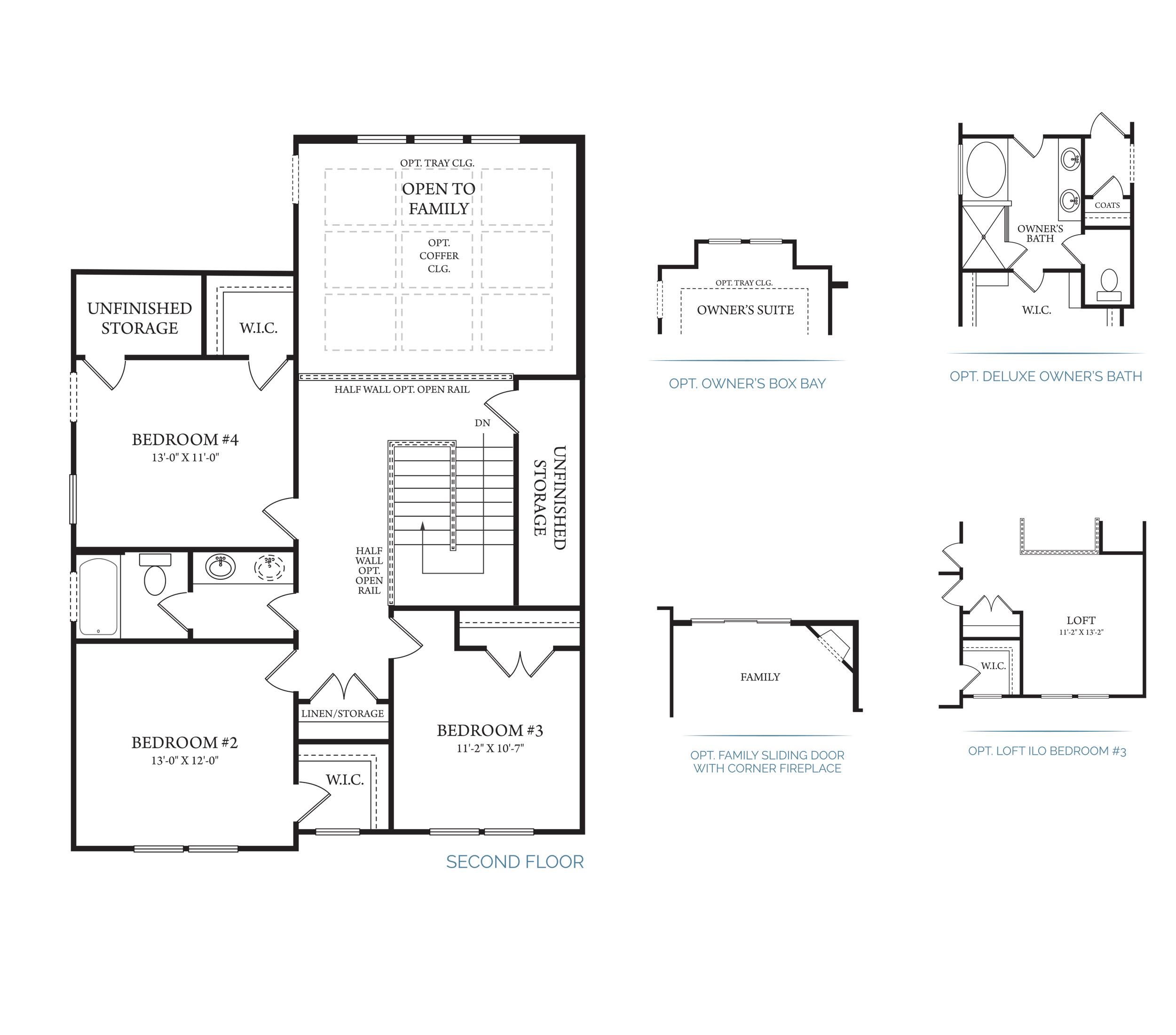 Yellowstone Floor Plans